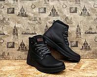 Ботинки мужские с мехом качественные украинского производителя