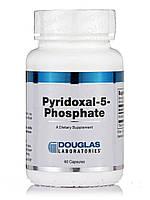 Пиридоксаль-5-фосфат, Pyridoxal-5-Phosphate, Douglas Laboratories, 60 капсул, фото 1
