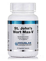 Сент-Джонс Ворт Макс-V, St. John's Wort Max-V, Douglas Laboratories, 60 вегетарианских кампсул, фото 1