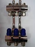 Коллектор в сборе на 2 выхода без расходомеров , фото 2