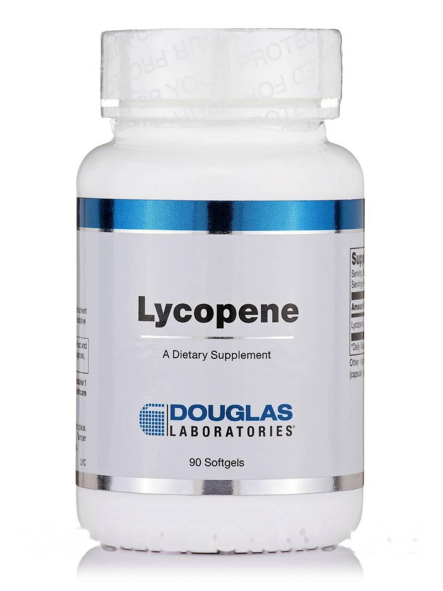Ликопин, Lycopene, Douglas Laboratories, 90 капсул