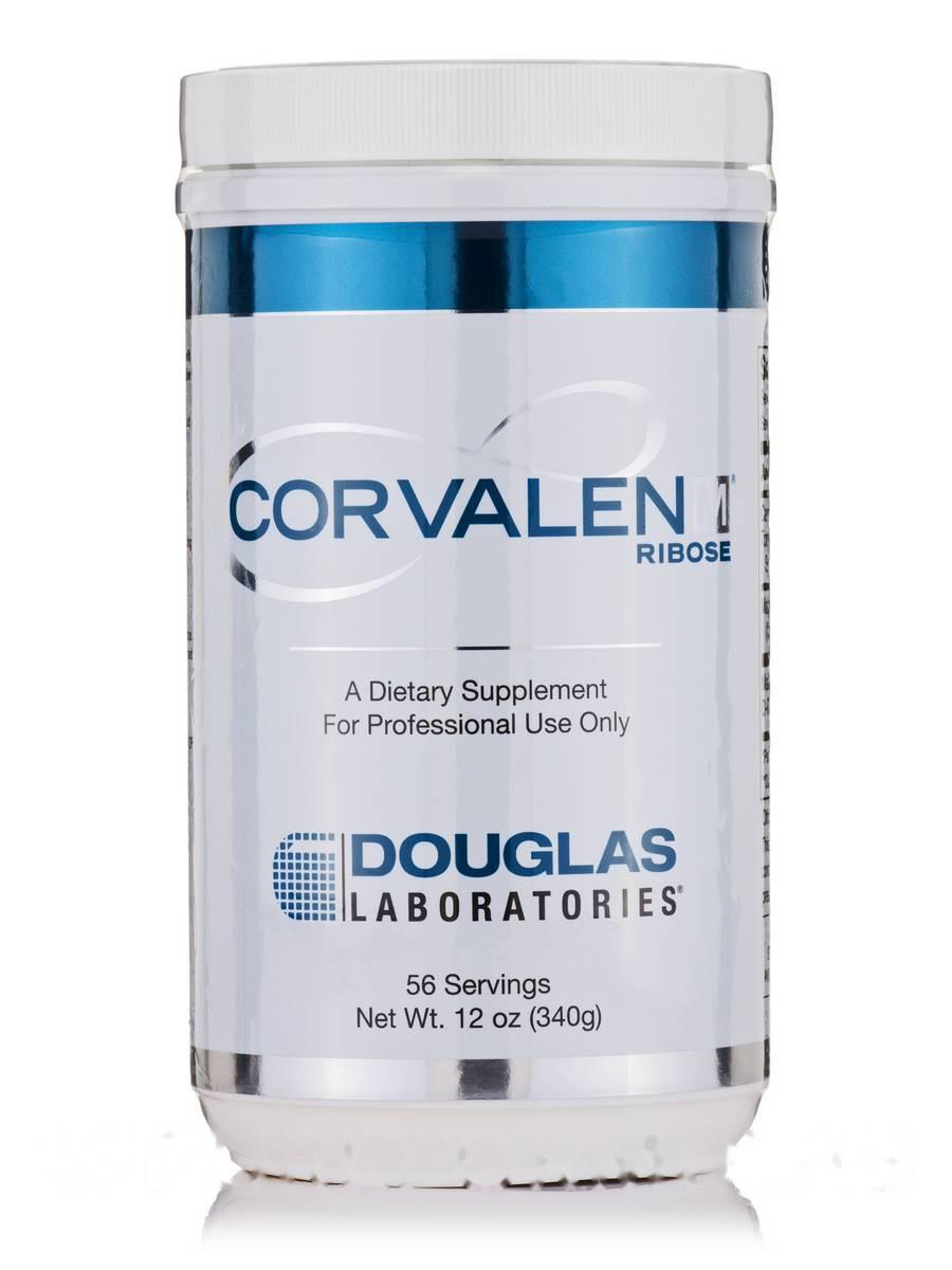 Корвален D-Рибоз, Corvalen Ribose, Douglas Laboratories, 12 ун. (340 грамм)