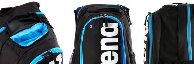 Спортивный рюкзак для плавания Arena Fastpack Core Black-Turquoise