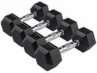 Гантельный ряд Protrain 1-10 кг