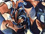 Кашемировый палантин с  легкими узорами, фото 2