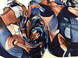 Кашемировый палантин с  легкими узорами, фото 4