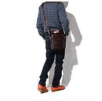 Чоловіча шкіряна сумка. Модель 63282, фото 4