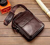 Чоловіча шкіряна сумка. Модель 63282, фото 3
