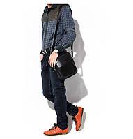 Чоловіча шкіряна сумка. Модель 63282, фото 5
