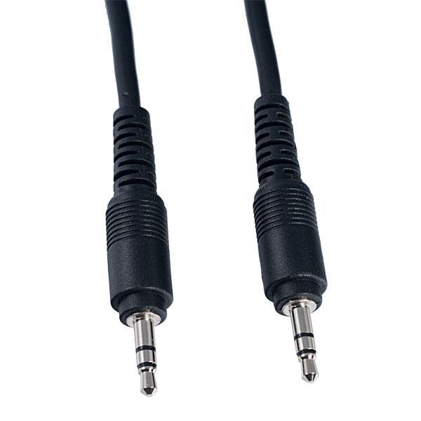 Аудио кабель mini Jack 3,5 мм стерео (вилка) - mini Jack 3,5 мм стерео (вилка), 2 м
