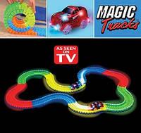 Игрушечная дорога MAGIC TRACKS 165 деталей
