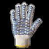 Перчатки трикотажные с ПВХ точкой в 3 нити