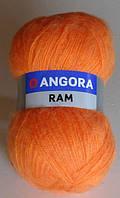 Пряжа   ANGORA RAM оранжевый 8273 - 1 шт