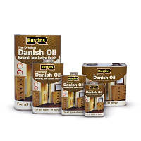 Растинс Rustins Danish Oil - Натуральное датское масло
