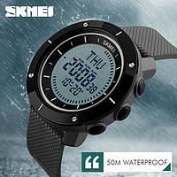 Наручные часы с компасом Skmei 1216 black