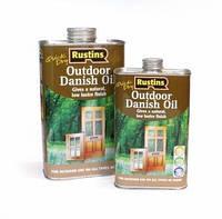 Растинс Rustins Danish Oil Outdoor - Датское масло для наружных работ