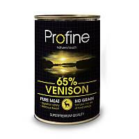 Консервы для собак Профайн (Profine Venison) с олениной , 400г