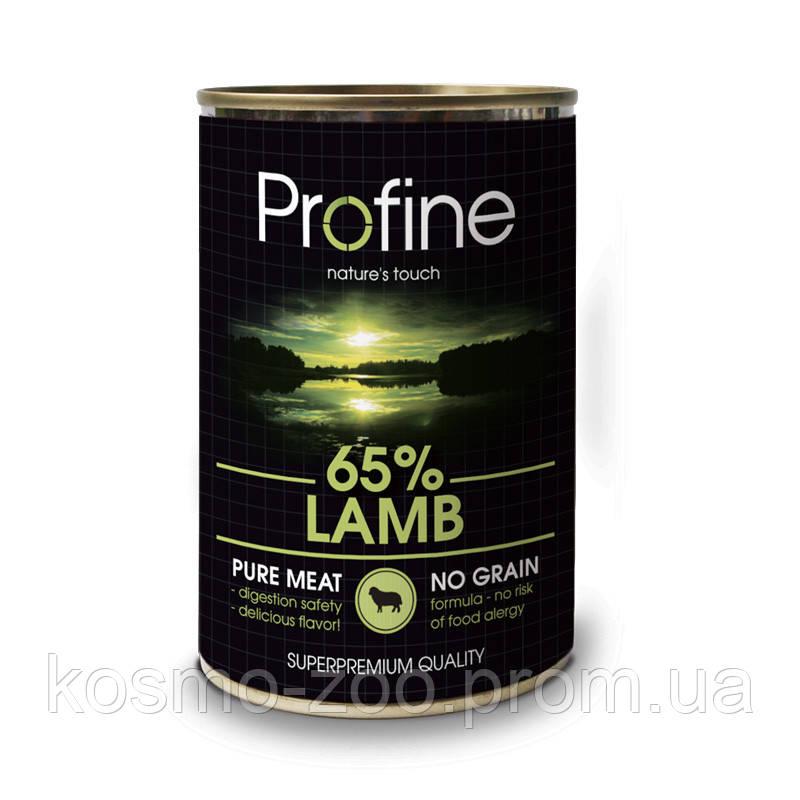 Консервы для собак Профайн (Profine Lamb) с мясом ягнёнка , 400г