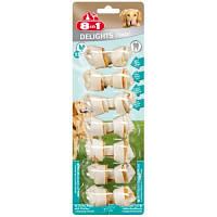 8in1 (8в1) DELIGHTS Bone Dental XS кость с мясом для чистки зубов - лакомства для собак