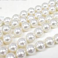 Жемчуг Swarovski, цвет Crystal White, 5 мм, 1 шт