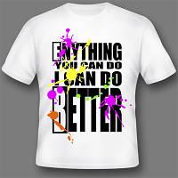 Шелкотрафаретная печать на футболках