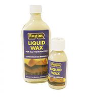Растинс Rustins Liquid Wax - Жидкий воск (с чистым пчелиным воском и карнаубский воск)