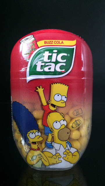 Драже Tic Tac Buzz Cola 98г