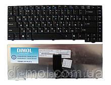 Оригінальна клавіатура для ноутбука ACER Aspire 4210, 4310, 6920, 6935 rus, black