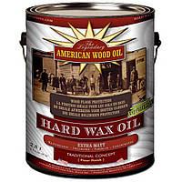 Американ Вуд Ойл AWO Hard Wax Oil - Масло-воск натуральный, экстраматовый, бесцветный