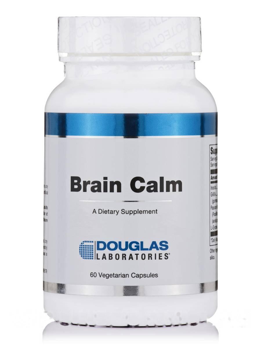 Мозговое спокойствие, Brain Calm, Douglas Laboratories, 60 Вегетарианских капсул