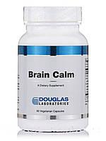 Мозговое спокойствие, Brain Calm, Douglas Laboratories, 60 Вегетарианских капсул, фото 1