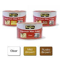 Растинс Rustins Premium Wax Polish - Премиум воск для всей древесины