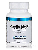 Cardio MetX с глюкофенолом, Cardio MetX with GlucoPhenol, Douglas Laboratories, 60 вегетарианских капсул, фото 1