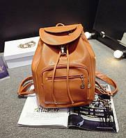 Рюкзак женский Рыжий