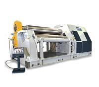 Вальцы листогибочные электрогидравлические моделей 4R HSS производства компании «SAHINLER»