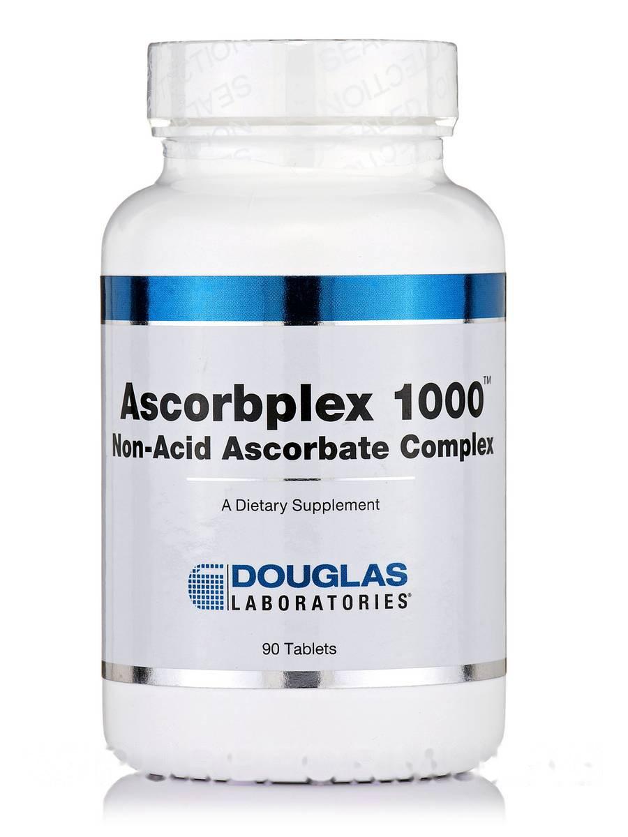 Аскорбплекс 1000, Ascorbplex, Douglas Laboratories, 90 Таблеток