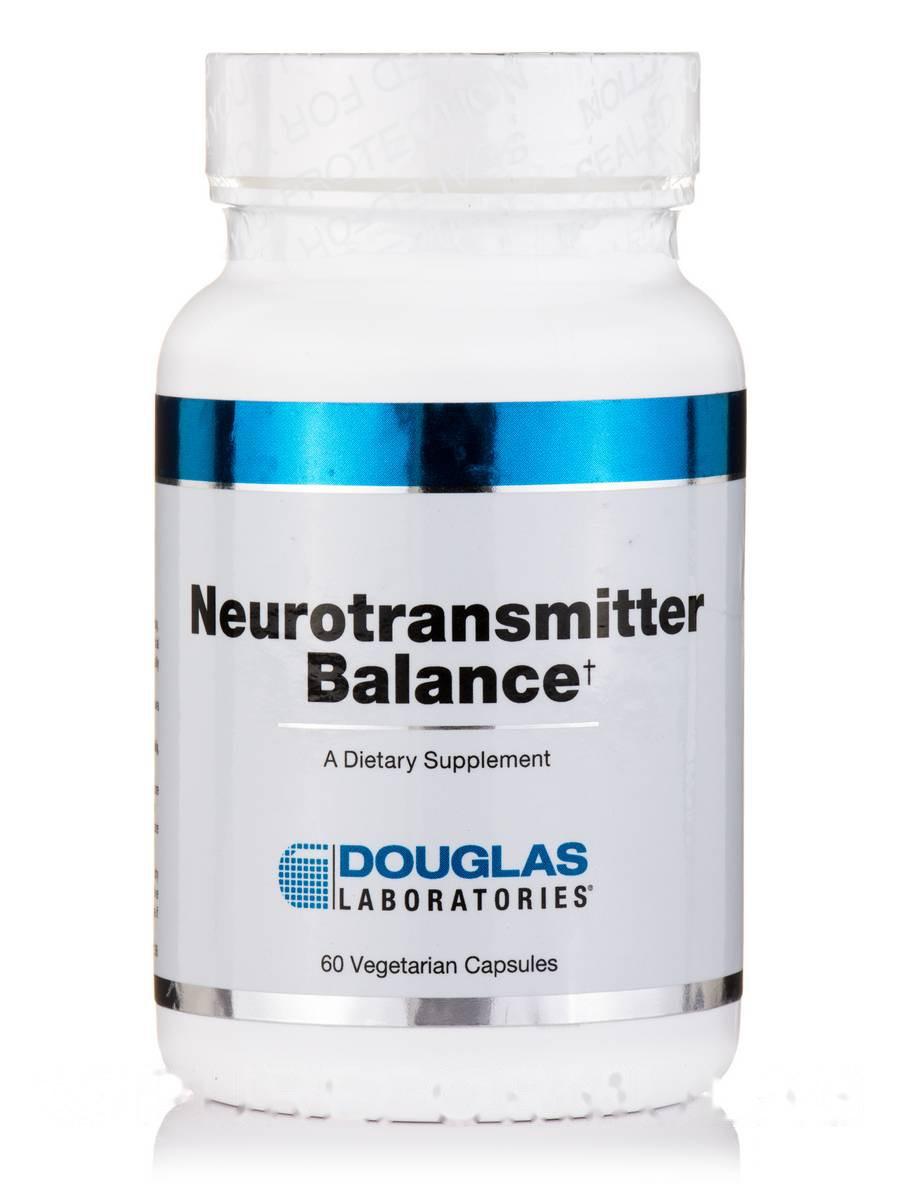 Баланс нейротрансмиттеров, Neurotransmitter Balance, Douglas Laboratories, 60 вегетарианских капсул