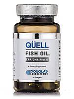 Quell Fish Oil EPA/DHA Plus D, 30 Softgels, фото 1