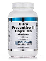 Ultra Preventive III with Copper, 180 Vegetarian Capsules, фото 1