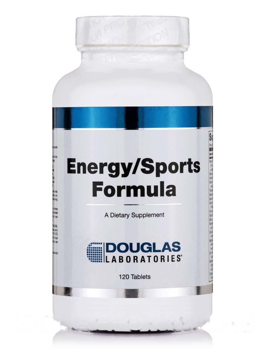 Формула энергии / спорта, Energy/Sports Formula, Douglas Laboratories, 120 таблеток