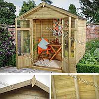 Уютная садовая беседка для отдыха