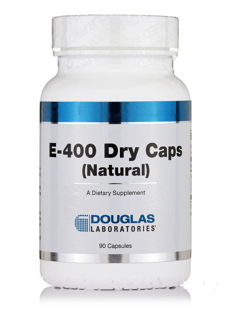 E-400 Dry кэпс(Натуральное), E-400 Dry Caps, Douglas Laboratories, 90 Капсул
