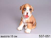 Фигурка декоративная Собачка 12,8 см серия Собаки 537-052
