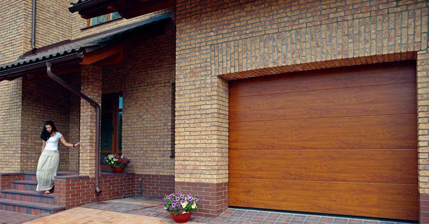 Ворота гаражные секционные Алютех цена