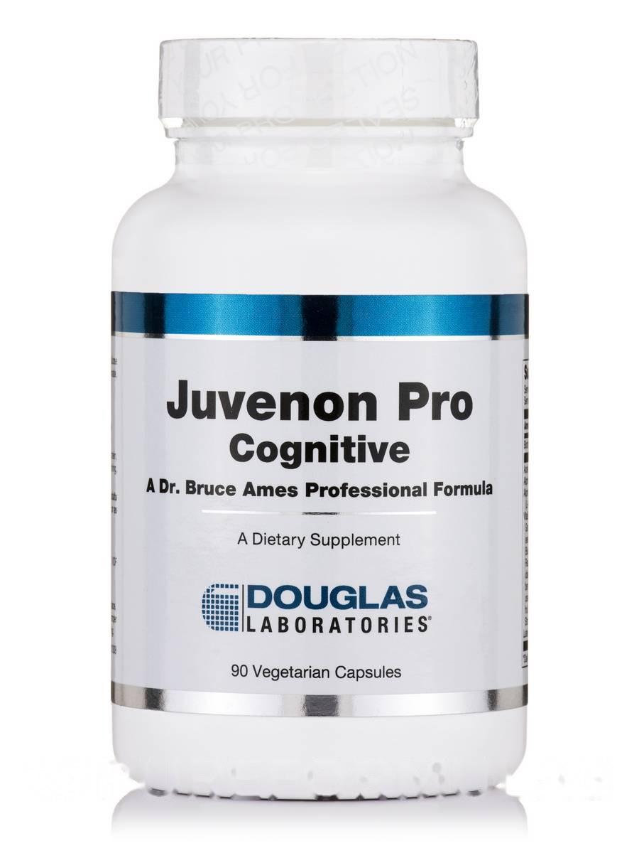 Живенон Про Когнитивные, Juvenon Pro Cognitive, Douglas Laboratories, 90 Вегетарианские капсулы