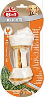 8in1 (8в1) DELIGHTS Bone Dental M кость с мясом для чистки зубов - лакомства для собак