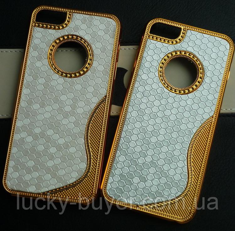 Чехлы для iPhone 5 5S LUXURY чешуя с узором