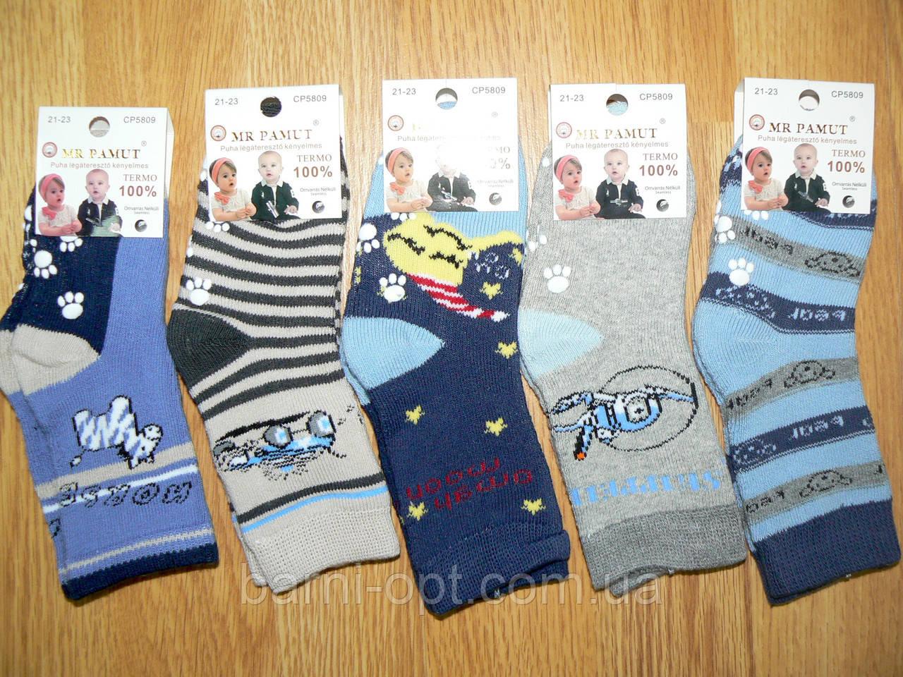 Термо-носки для мальчиков оптом, Венгрия,  MR PAMUT, 15-23 рр
