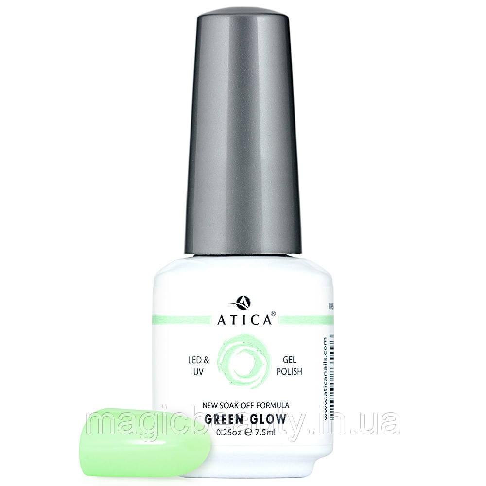 Гель-лак Atica Green Glow 109, 15 мл