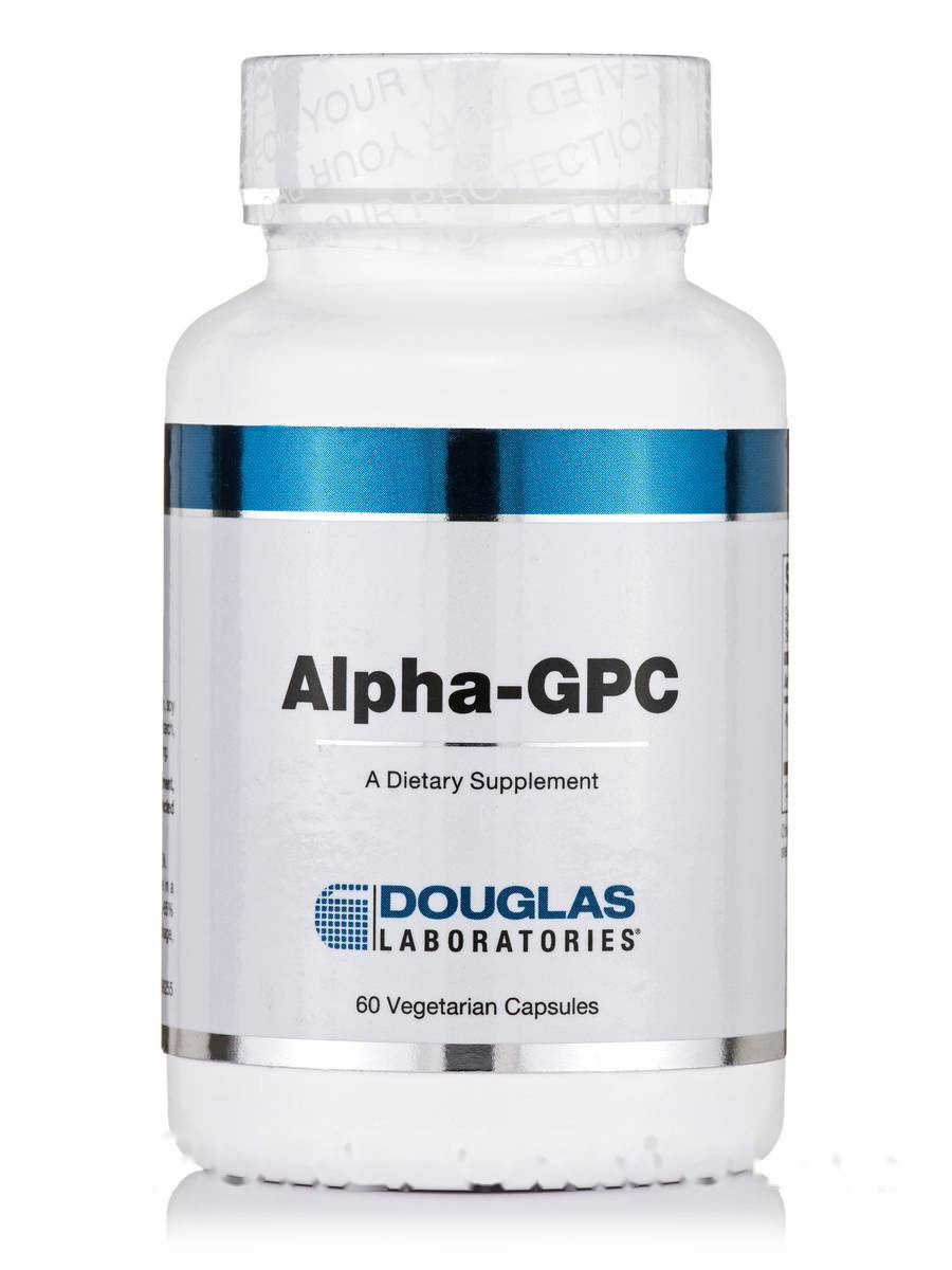 Альфа-ГПХ, Alpha-GPC, Douglas Laboratories, 60 вегетарианских капсул